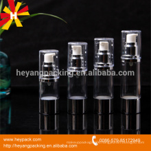 15ml 30ml 40ml 50ml empty plastic pump bottle